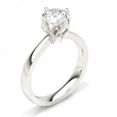 Großer Diamant Verlobungsring in einer Krappenfassung