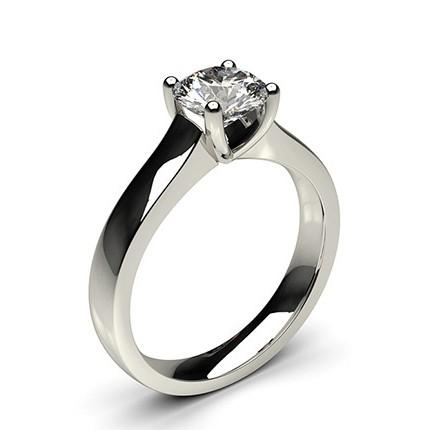 4 Prong Setting Large Engagement Ring