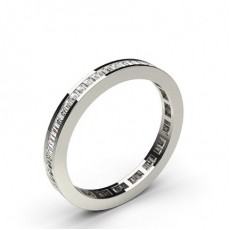 Baguette  Full Eternity Diamond Rings