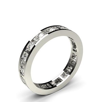 Channel Setting Full Eternity Diamond Ring
