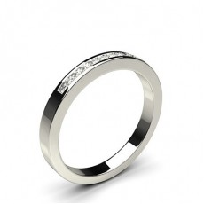Diamond Half Eternity Rings