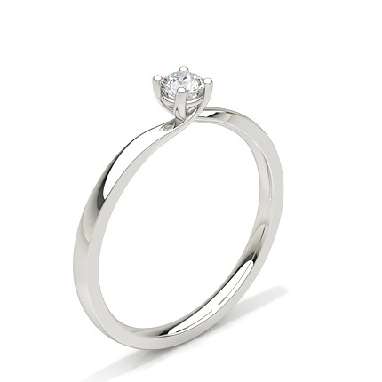 rings ring wedding plain cut diamond gallery solitaire engagement cz oval