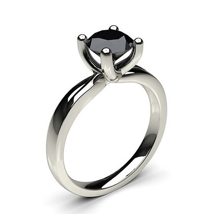 ring diamond engagement halo cushion cut black set jewellery