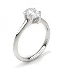 Pear Solitaire Engagement Rings