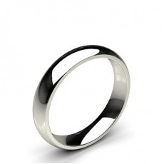 White Gold Men's Wedding Bands