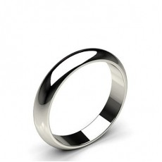 Platinum Plain Men's Wedding Bands