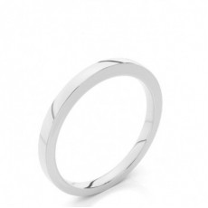 1.80mm Court Profile Comfort Fit Classic Plain Wedding Band