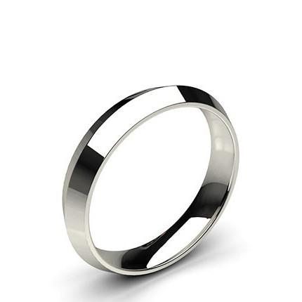Buy Knife Edge Comfort Fit Classic Plain Wedding Band Diamonds