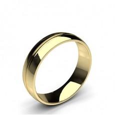 Yellow Gold Wedding Bands Men Plain