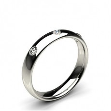 Platinum Women Diamond Wedding rings