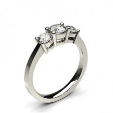 Trilogy Diamond Engagement Rings