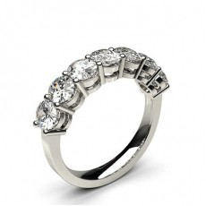 Oval Platinum Diamond Rings