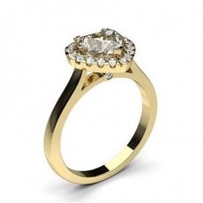 Herz Gelbgold Verlobungsringe