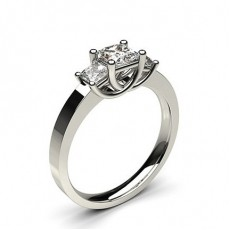 Trilogy Engagement Rings
