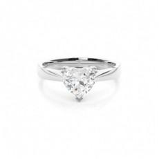Heart Diamond Engagement Rings