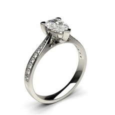 Pear Diamond Engagement Rings