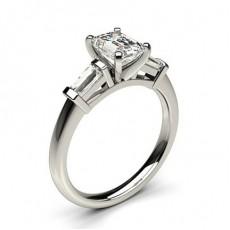 Drei-Diamanten Diamantringe