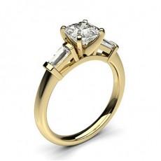 Trilogy Diamond Rings