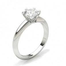 6 griffes Setting Bague Diamant
