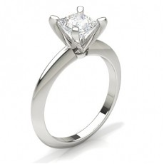 Princess  Solitaire Engagement Rings