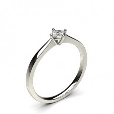 White Gold Promise Diamond Rings