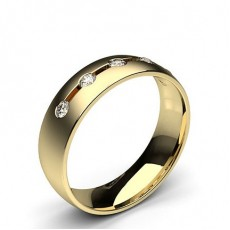 Yellow Gold Classic with Diamonds