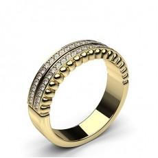 Yellow Gold Diamond Rings