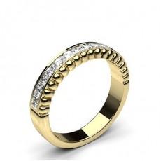 0.50ct. Channel Setting Half Eternity Diamond Ring
