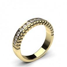 0.35ct. Channel Setting Half Eternity Diamond Ring