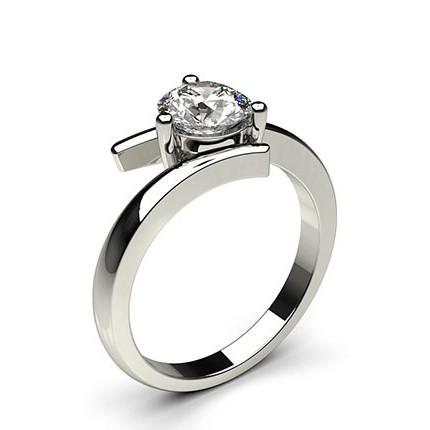 Buy White Gold Diamond Engagement Ring Online UK Diamonds Factory