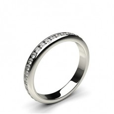 3.30mm Eternity Diamant Ring in einer Kanalfassung