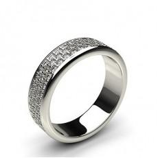 Full Diamond Eternity Rings