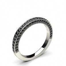 Platinum Black Diamond Rings