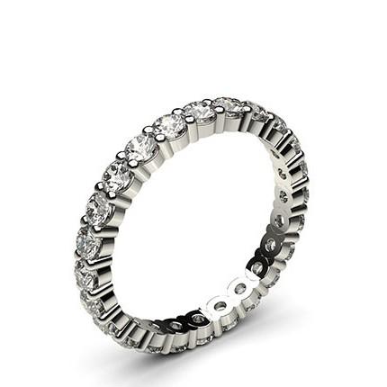 Prong Setting Full Eternity Diamond Ring