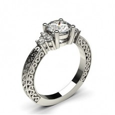 Platinum  Vintage Engagement Rings