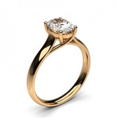 Oval Rose Gold Diamond Engagement Rings