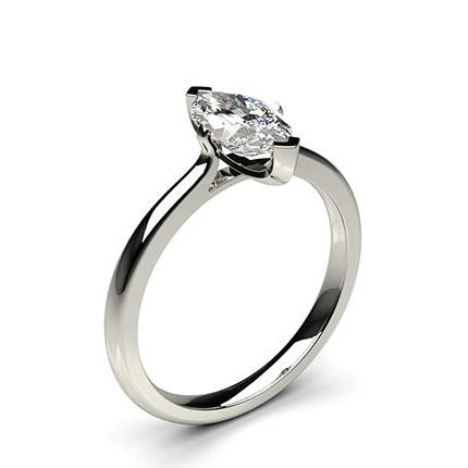 bague solitaire diamant ovale
