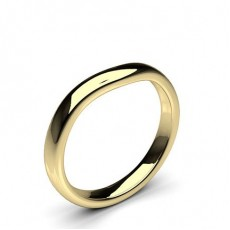 Yellow Gold Woman Shaped Bands