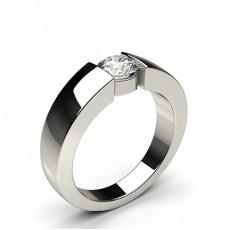 Bar Setting Diamond Engagement Rings