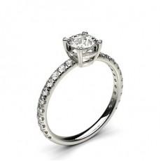 Prong Setting Diamond Engagement Rings