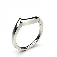 1.80mm Slight Comfort Fit Plain Curve Shaped Wedding Band
