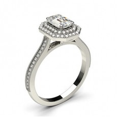 Halo Diamond Engagement Rings