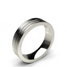 Contemporary Men's Wedding Bands