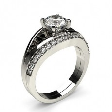 Platinum Bridal Set Diamond Engagement Rings