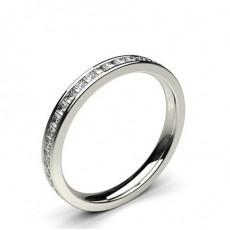 0.05ct. Runder Petite Diamantring mit einer Pavefassung