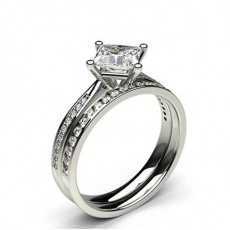 Bridal Set Diamond Engagement Rings