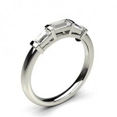 Bar Setting Diamond Rings