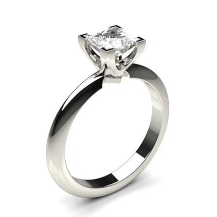 bague diamant forme princesse