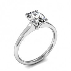 Oval Solitaire Engagement Rings