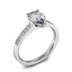 3 Prong Setting Diamond Engagement Rings